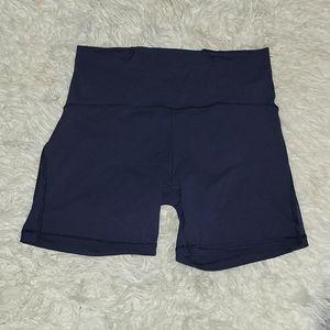 Lululemon Athletica Navy Bike Shorts. Size 10.